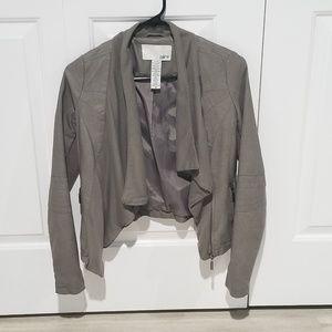 Bar lll grey moto jacket